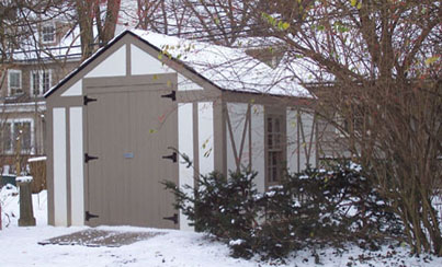Shed in Shaker Heights